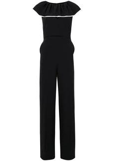 Chloé deep frill jumpsuit