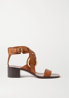 Chloé Demi Embellished Leather Sandals
