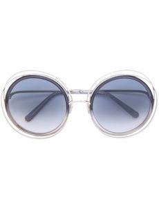 Chloé double frame sunglasses