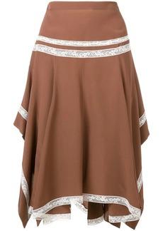 Chloé draped skirt