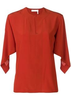 Chloé draped sleeve top