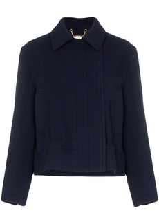 Chloé drawstring cropped jacket