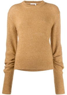 Chloé elongated sleeve jumper