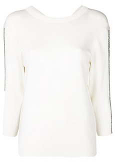 Chloé embellished V-neck jumper