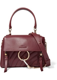 Chloé Faye Day Small Quilted Leather Shoulder Bag