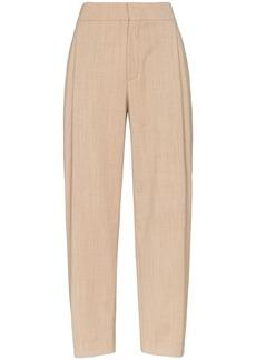Chloé flannel carrot pants