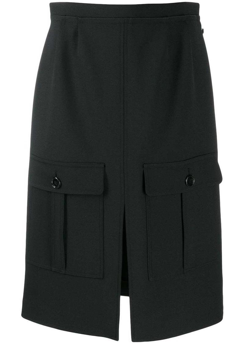 Chloé flap pocket skirt
