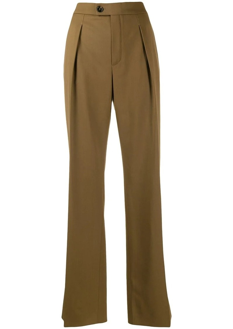 Chloé flared tailored trousers