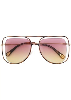 Chloé floating frame sunglasses