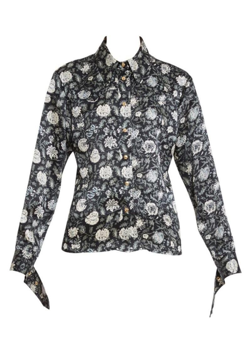 Chloé Floral Silk Western Shirt
