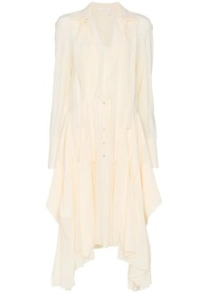 Chloé flou silk shirt dress