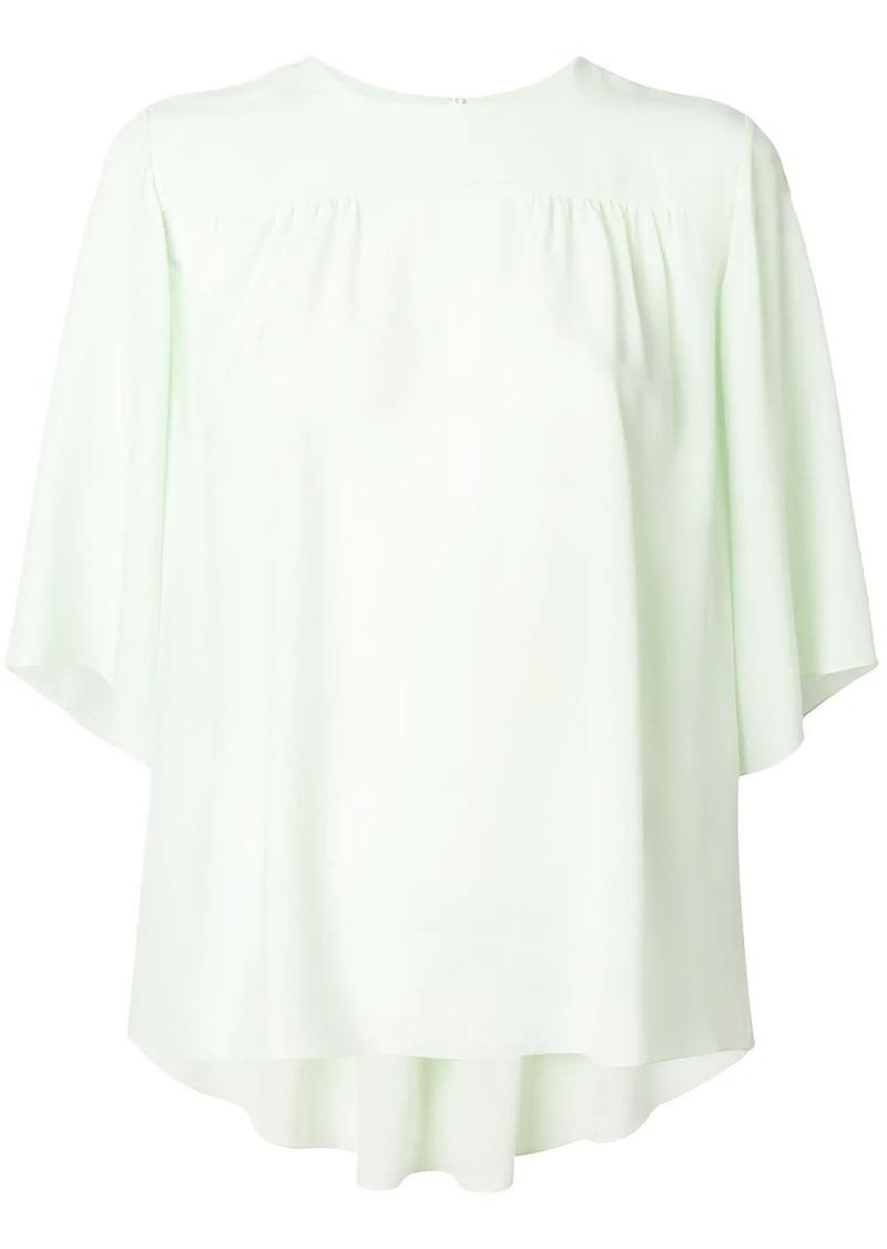 Chloé fluid trapeze blouse