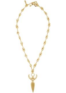 Chloé Gold Femininities Chain Necklace