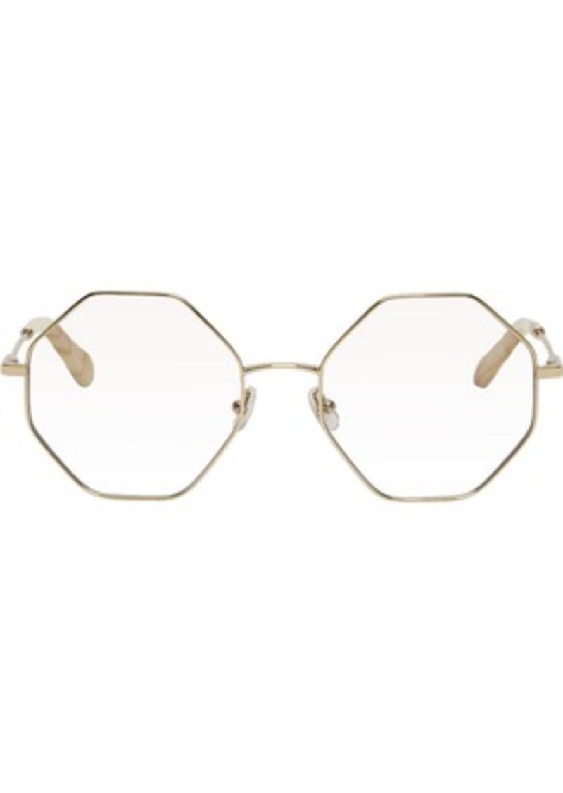 1e10bd55bf14 Chloé Gold Palma Glasses
