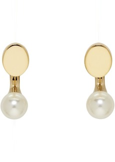 Chloé Gold Small Darcey Round Earrings
