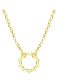 Chloé Gold Vermeil Pendant Necklace