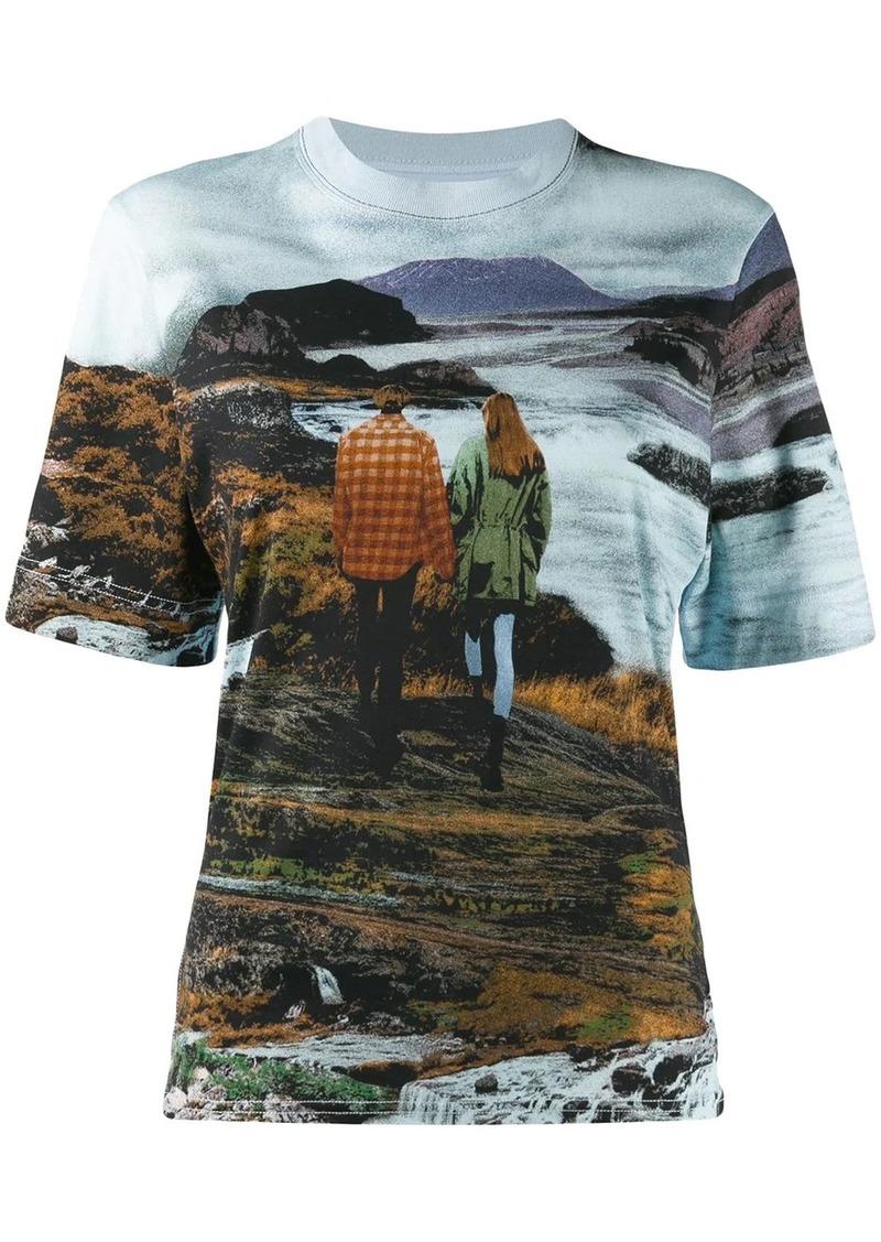 Chloé graphic print T-shirt