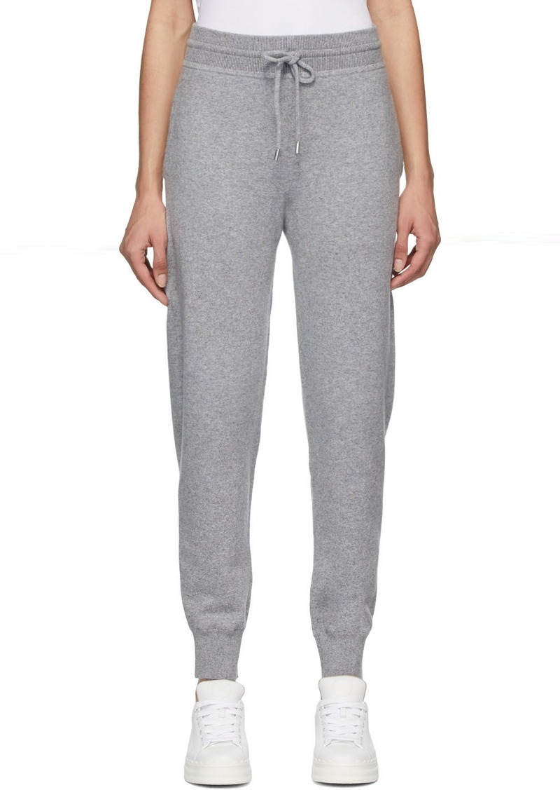 Chloé Grey Cashmere Lounge Pants