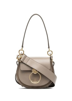 Chloé grey Tess leather shoulder bag