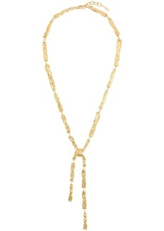 Chloé hammered pendant necklace