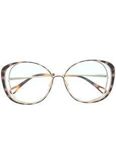 Chloé Hannah cat-eye frame sunglasses