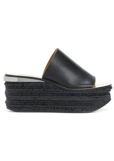 Chloé high platform sandals