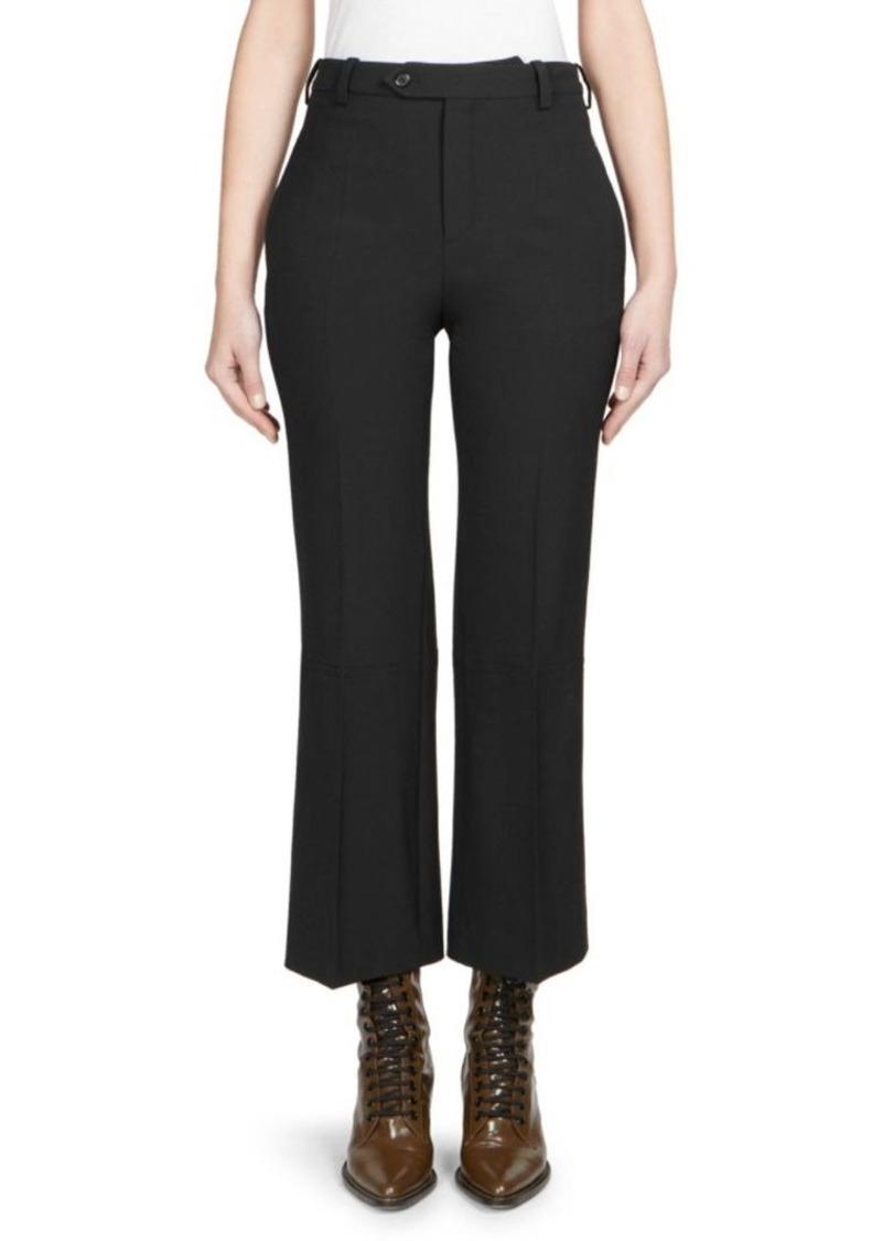 Chloé High-Rise Stretch Wool Pants