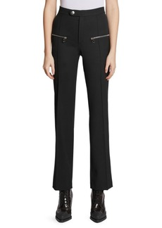 Chloé High Waist Stretch Wool Pants