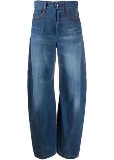 Chloé high-waisted balloon leg jeans