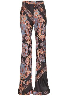 Chloé Persian print trousers