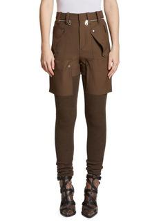Chloé Hybrid Cargo Pants