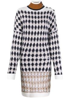 Chloé intarsia-knit dress