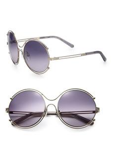 Chloé Isadora 59mm Round Sunglasses