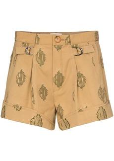 Chloé jacquard monogram shorts