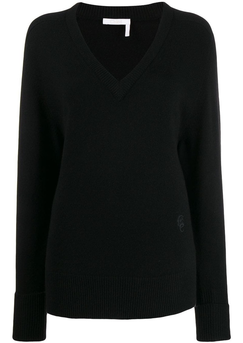 Chloé knitted sweatshirt