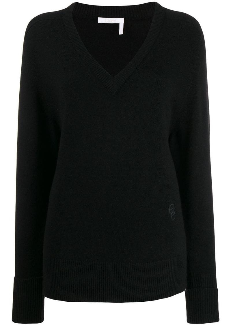 Chloé knitted sweatshirt
