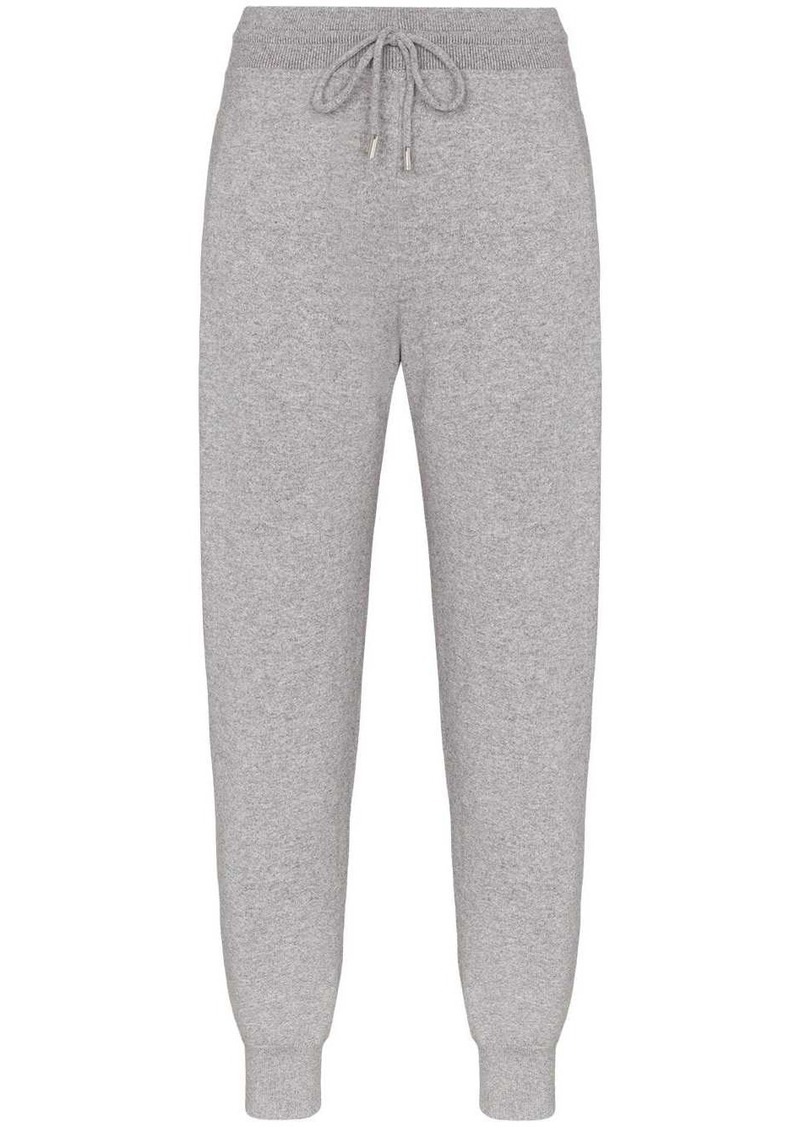 Chloé knitted track style trousers
