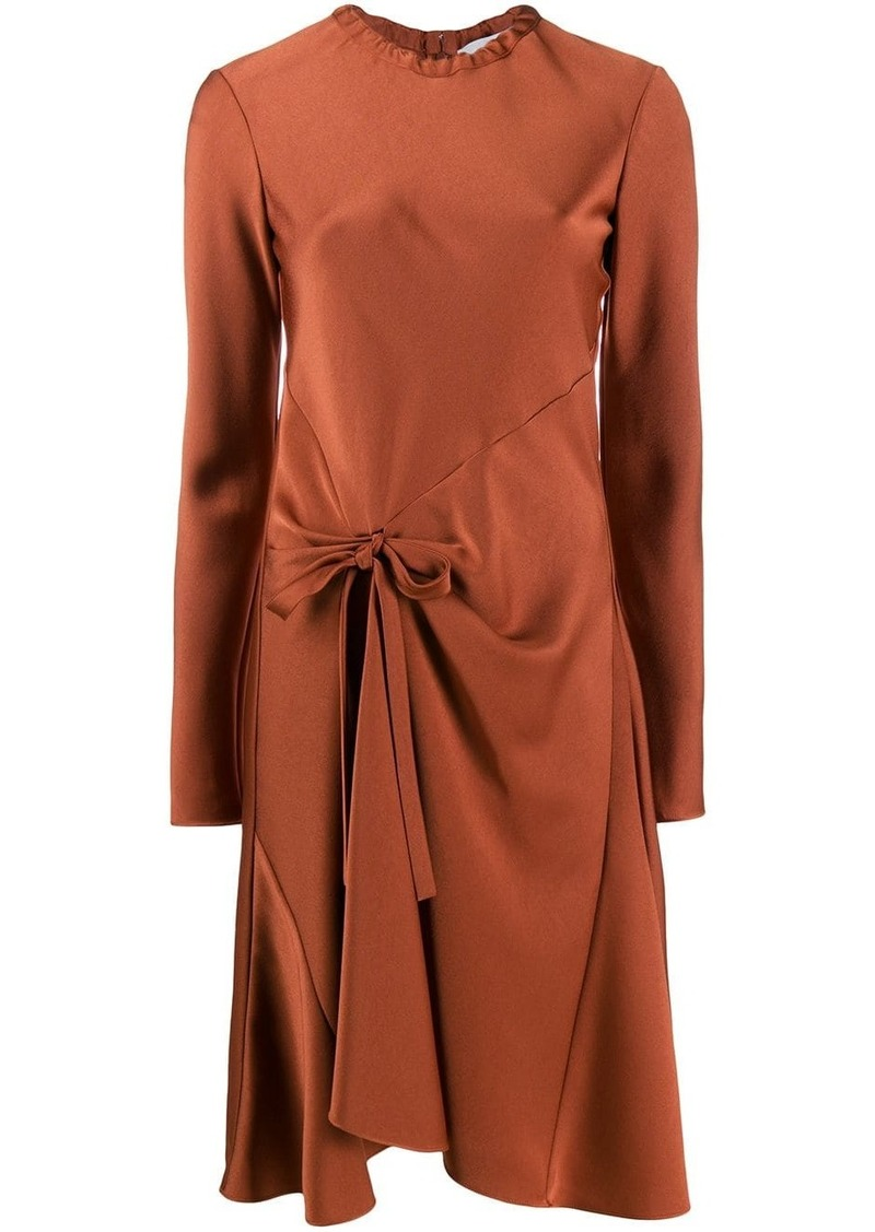 Chloé knot detail flared dress