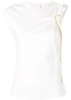 Chloé knot detail T-shirt