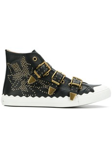 Chloé Kyle buckled sneakers