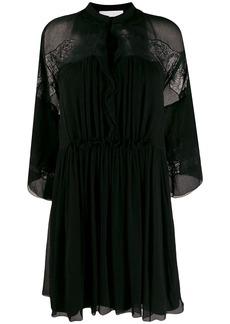 Chloé lace panel dress