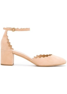 Chloé Lauren ankle strap pumps