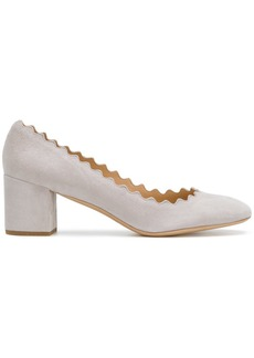 Chloé Lauren block-heel pumps