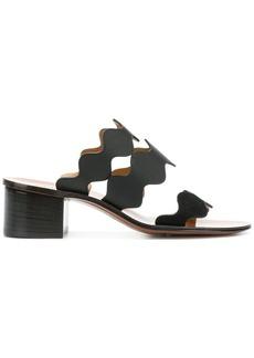 Chloé Lauren mid-heel sandals