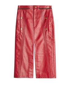 Chloé Leather Skirt