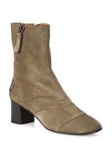 Lexie Suede Block Heel Boots