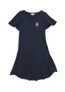 Chloé Little Girl's & Girl's Flutter-Sleeve Ruffle Dress