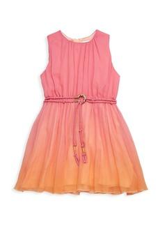 Chloé Little Girl's & Girl's Ombre Silk Dress