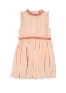 Chloé Little Girl's Beaded Couture Dress