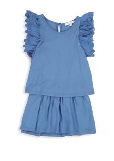 Chloé Little Girl's Jersey Dot Dress